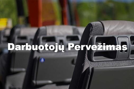 Darbuotojų pervežimo paslauga